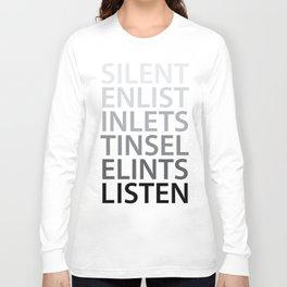 Silent Listen Long Sleeve T-shirt