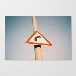 Street Sign Canvas Print