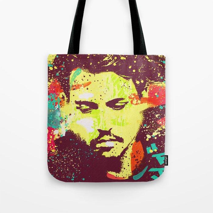JOHNNY DEEP urban art Tote Bag