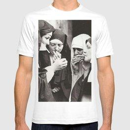 Smoking Nuns T-shirt