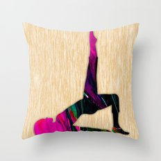 Fitness Throw Pillow