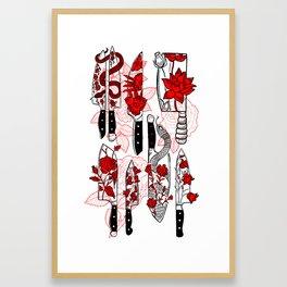 Final Cut Framed Art Print