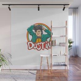 Retro Dustin Wall Mural