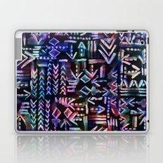 Tapa Tribal Black Laptop & iPad Skin