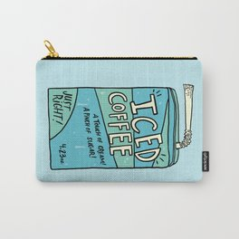Iced Coffee Juicebox Carry-All Pouch