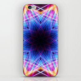 Energy Lasers Mandala iPhone Skin