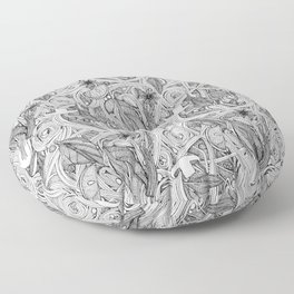 PHO BW Floor Pillow