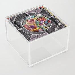 Test Card Acrylic Box
