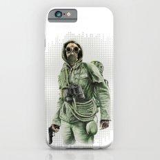 Gas Mask Man Slim Case iPhone 6s