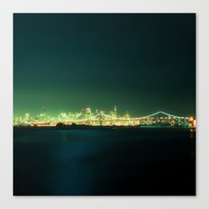 San Fran Nights Canvas Print