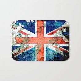 Extreme Grunge Union Jack Flag Bath Mat