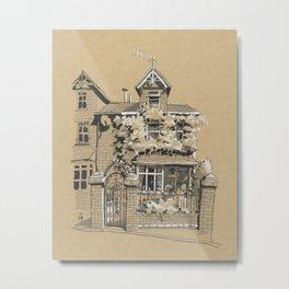 A House in Darthmouth, England Metal Print