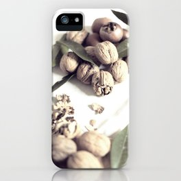 Food still life, macro photography, fine art for kitchen decor, home, interior design iPhone Case