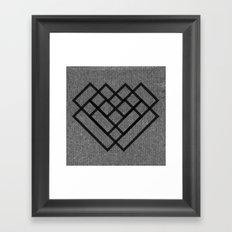 WELOVEHUMANS Framed Art Print