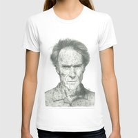 clint eastwood T-shirts featuring Clint Eastwood by theMAINsketch
