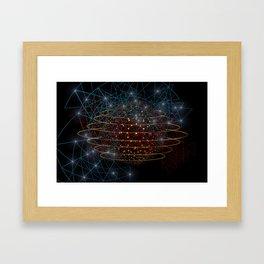 Earth Drowned Framed Art Print
