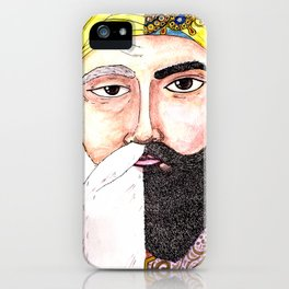 Two Gurus iPhone Case