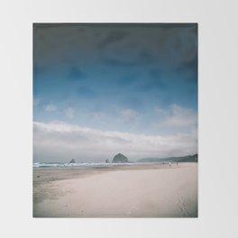 Cannon Beach V Throw Blanket