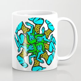 Round and Round She Goes Coffee Mug