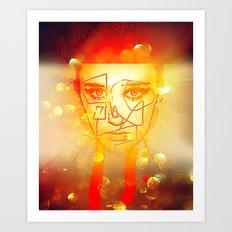 The Girl UnWound Art Print