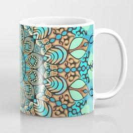 Zentangle Mandala 180218 - Bohemian Mandala Coffee Mug