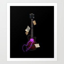 My Guitar Art Print