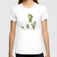 murray T-shirts featuring Andy Murray Wimbledon Tennis by DanielBergerDesign