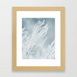 GONE TO SEED - FLUFFY SEEDS Framed Art Print