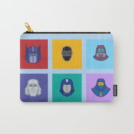 1980s Cartoon Morning Shows Carry-All Pouch