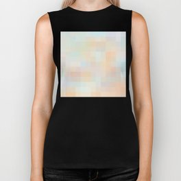 Re-Created Colored Squares No. 33 by Robert S. Lee Biker Tank