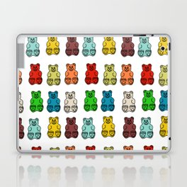Cute Gummy Bear Candy Collage Laptop & iPad Skin