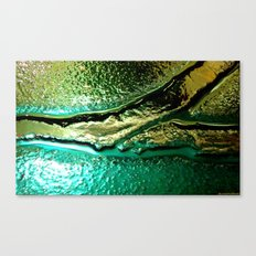 Microscopic part 1 Canvas Print