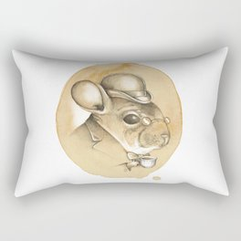 Gentleman Chinchilla Rectangular Pillow