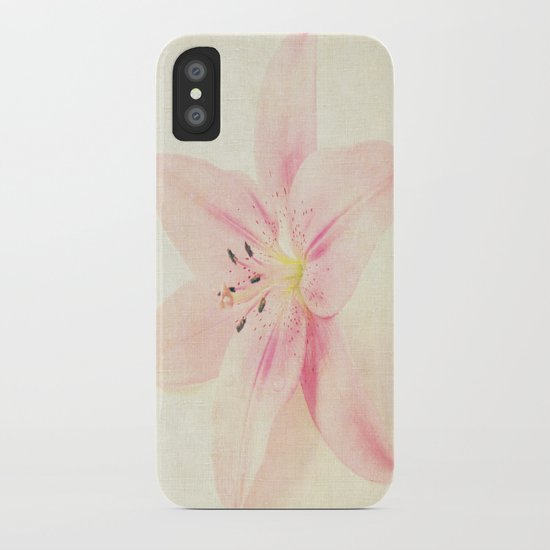 Flower On a Canvas  iPhone Case
