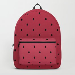 Watermelon Minimal Pattern Backpack