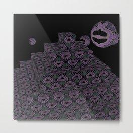 Pyramide Grotesque 42 Metal Print