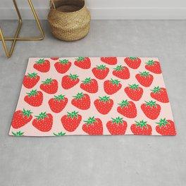 Cute Strawberry Rug