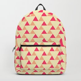 Pop-Geometrical Triangles - Retro Fresh Pastels Backpack