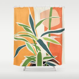 Colorful Branching Out 02 Shower Curtain