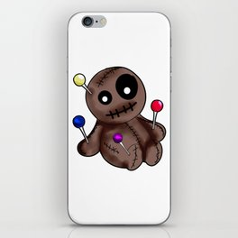 Womens Thinking About You | Voodoo Doll T-Shirt iPhone Skin
