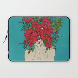 Blooming Red Laptop Sleeve