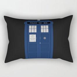 Doctor Who's Tardis Rectangular Pillow