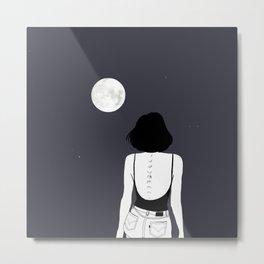 Am a moon like Metal Print