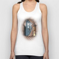 narnia Tank Tops featuring Bigger on the Inside! by Billy Allison