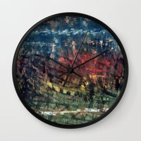 jungle Wall Clocks featuring jungle by gasponce