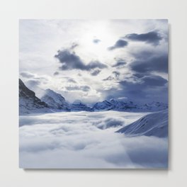 Amongst the Clouds Metal Print