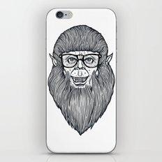 Nerdy Teen Wolf iPhone & iPod Skin