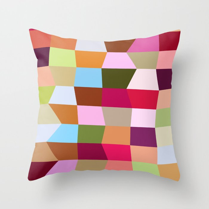 The Jelly Beans Throw Pillow