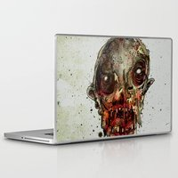 in the flesh Laptop & iPad Skins featuring Hungry For Human Flesh by Grant Hunter