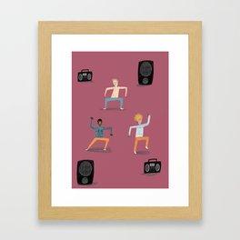 Bop It Framed Art Print